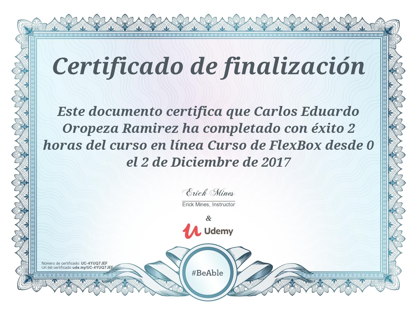 udemy certificate seo crear curso desde posicionamiento guardado sitio completion hernandez course academia cesar gabriel