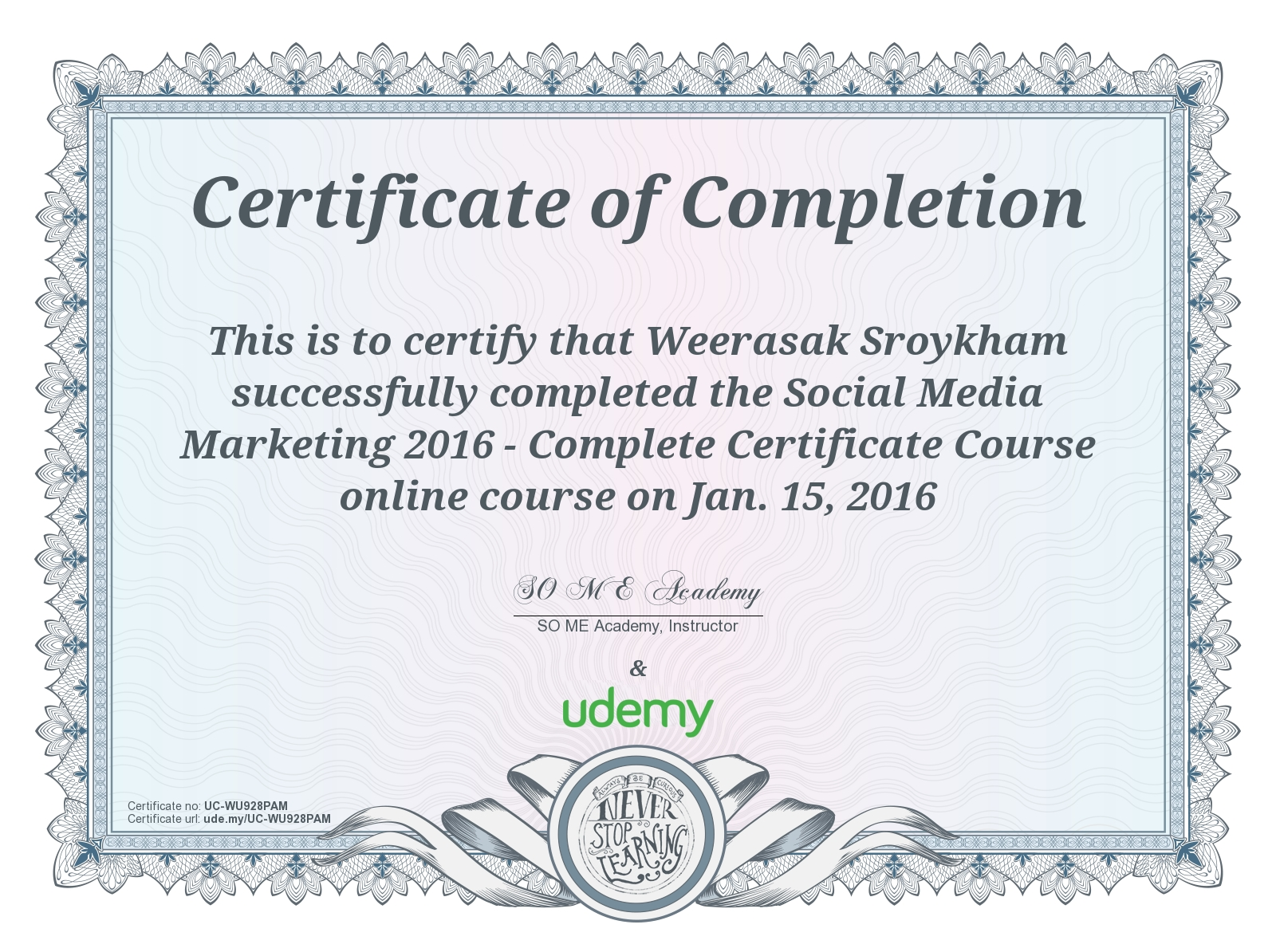 Course Social Media Marketing 2016 Complete Certificate Course On